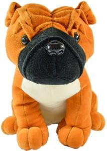 Efinito Gifts Half Sitting Bull Dog  - 30 cm