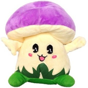 Chinmayi Gift This Small Mushroom Soft Toy  - 20 cm