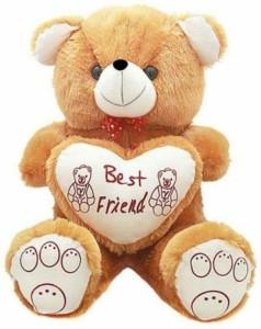 Ansh Cute n sweet brown best friend Teddy  - 70