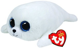 Ty Beanie Boos ICY - white seal reg  - 20 inch
