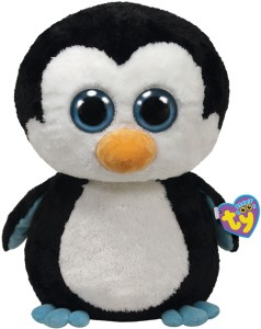 Ty Waddles Penguin Bubby  - 8.66 inch