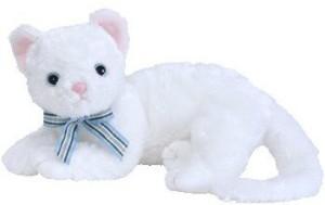 Buddies Ty Beanie Buddy Starlett The White Cat