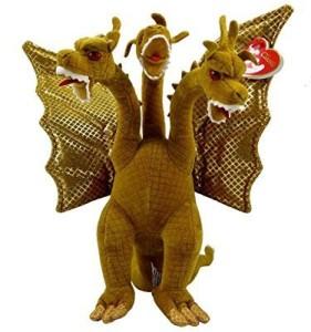 Godzilla Ty Classic Plush King Ghidorah ( Japan Exclusive )