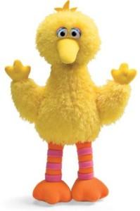 Gund Soft and Shaggy Big Bird Doll 75922