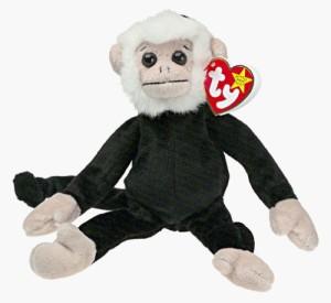 TY Beanie Babies Mooch The Capuchin/White Face Monkey (Retired)