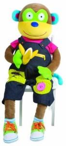 Alex Toys Little Hands Giant Learn To Dress Monkey