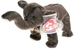 Beanie Babies Ty Beanie - Trumpet the Elephant  - 20 inch
