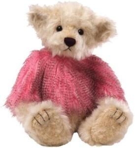 Gund Scarlett Pink/Beige Bear 135