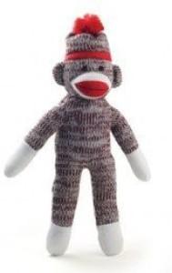 PL 8 Inch Classic Style Sock Monkey