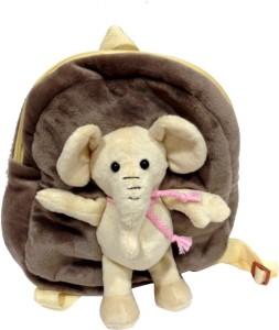 c4ce8463427 Soft Buddies Bag with Animal-Elephant - 26.416 cm ( Grey )