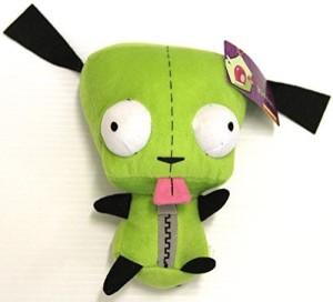 Invader Zim Nickelodeon Alien Plush 8