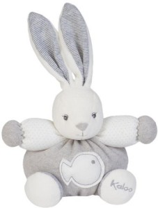 Kaloo Zen Rabbit White/Greysmall