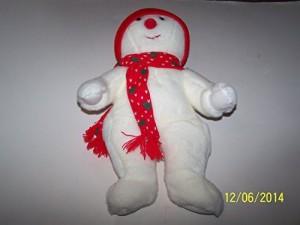 TY Beanie Babies Snowboy The Snowman