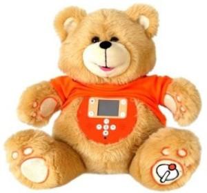 Zizzle I Teddy Plush Interactive Educational Teddy Bear