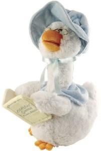 Sound & Light Cuddle Barn Animated Story Telling Mother Goose Plush Hear 5 Childhood