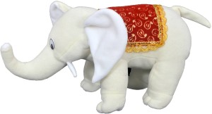 FunnyLand White Elephant 33cm  - 33 cm