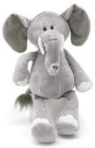 Burton & Burton Grey Elephant Jungle Plush Animal 16