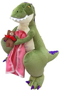 MerryMakers How Do Dinosaurs Say Good Night? Plush Doll14Inch