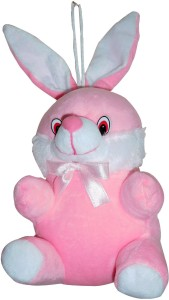 Siddhi Gifts soft toys for kids - Pink Rabbit  - 19 cm