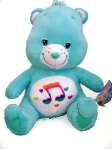Care Bears Stuff Animal Heartsong Bear 12 Inches New