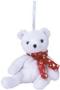 Ty Jingle Beanies 2000 Holiday Teddy