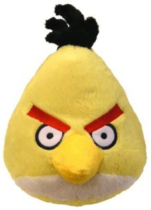 Angry Birds Plush 8Inch Yellow Bird With Sound