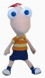 Disney Phineas And Ferb 14 Inch Talking Plush Phineas
