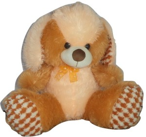 Cuddles Cute Looking Sitting Dog  - 40 cm