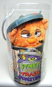 Jay at Play Stinky Little Trash Monsters 9 Inch Plush Gooey