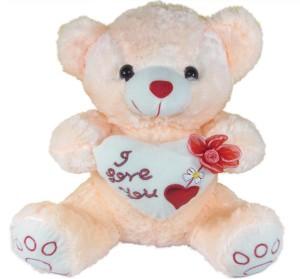 Tickles I Love U Heart Teddy  - 35 cm