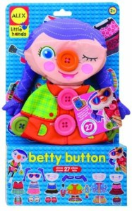 Alex Early Learning Betty Button Little Hands 1496B