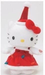 Nakajima Inc Sanrio Hello Kitty Holiday Edition Dancing Kitty Plush