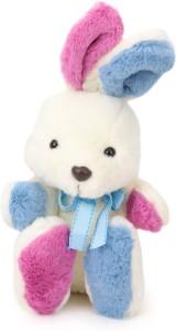 Starwalk Rabbit Plush Multicolour with Blue Ribbon  - 22 cm