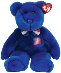 Ty John - Blue Bear with Bowtie 90052
