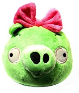 Angry Birds Plush 5Inch Girl Piglet With Sound