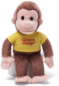 Gund Curious George with Yellow Shirt, 8