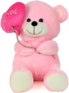 Giftwish soft stuff cute teddy bear with i love you heart ballon giftwish soft stuff cute teddy bear with i love you heart ballon pink soft toy 27cm altavistaventures Images