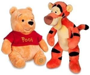 Disney Winnie the Pooh and Tigger Plush 14