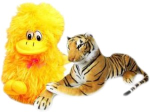 Deals India musical duck and Tiger 32 cm  - 10 cm