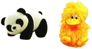 VRV Soft Toy Combo Of Panda and Duck 22cm  - 25 cm