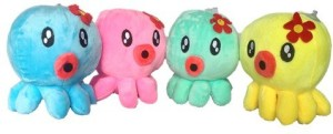 Chinmayi Gift This Four Combo Small Jellyfish Soft Toy  - 20 cm