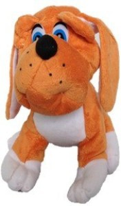 Chinmayi Gift This Small Bull Dog Soft Toy  - 20 cm