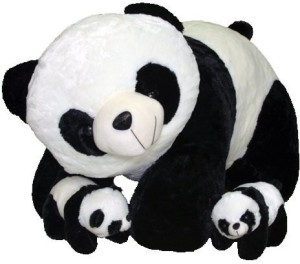 e9442c553 cityretail cute soft jombo panda mother with2 baby suffed toys 95 cm ...