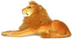 speoma Stuffed animal 32 cm king lion soft toy 4 cm Brown Best Price ... 0582d61a3f0b