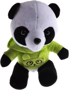 5be0d21e778 Creative India Exports Panda With Green T shirt Soft Plush Toy 18 cm ...