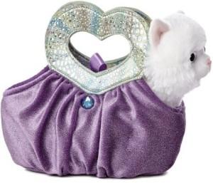 Fancy Pals Purse Pet Carriers Lavender Heartfelt Fancy Pals Miniplush Purse Pet Carriers