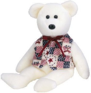Ty Beanie Babies Liberte Bear ( Store Exclusive)