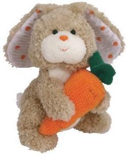 Ty Beanie Babies Veggies Bunny