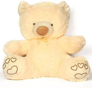 V Golly Jolly Nx Jimmy Soft Teddy Cream  - 55 cm