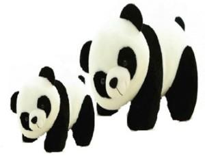 Ewi Cute Soft Toys Panda Mom & Kid  - 30 cm